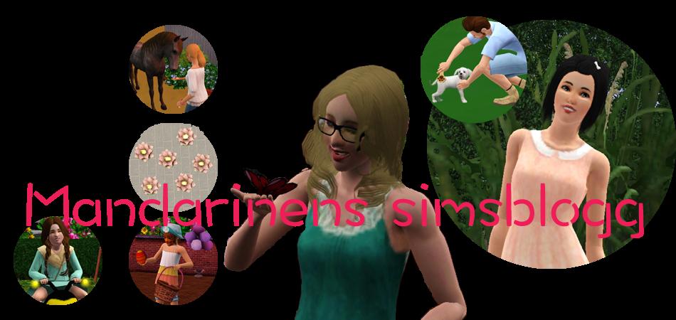 Mandarinens Simsblogg